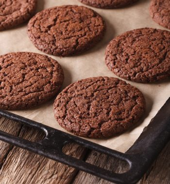 Vegan Ginger Molasses Gluten Free Cookies