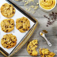 Peanut Butter Chocolate Chip Gluten Free Cookies