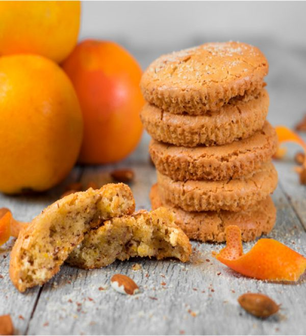 Sweet Orange Marmalade Gluten Free Cookies
